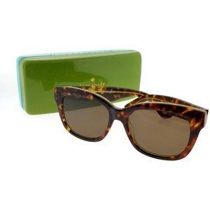 LORELLE-S-QPB-53 Women's Tortoise Frame Sunglasses